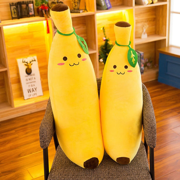 Banana Smile Cushion