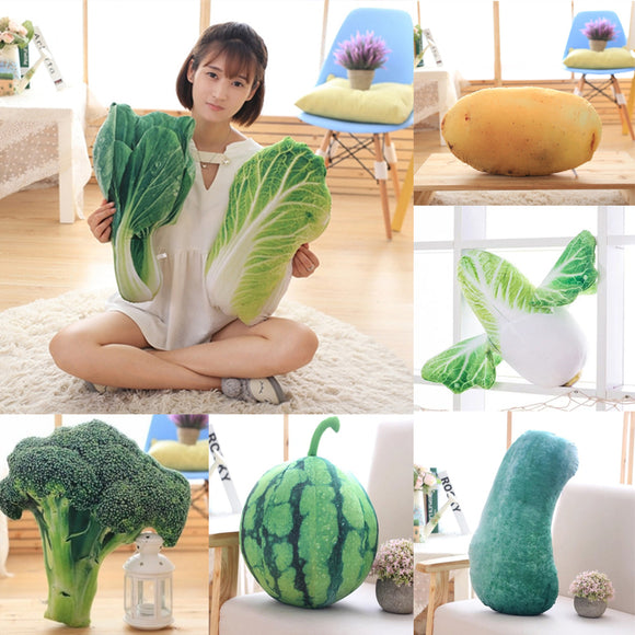 Vegetables Shaped Cushion