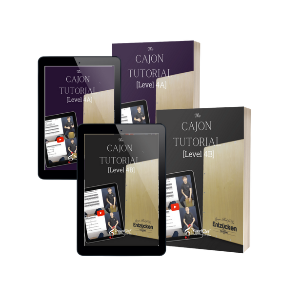 Cajon Online Tutorial Bundle Levels 4