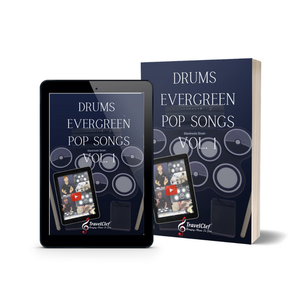 Drums Evergreen Pop Songs Collection Vol. 1