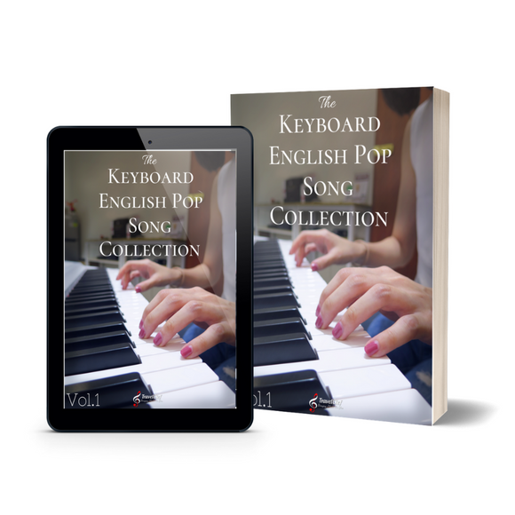 Keyboard English Pop Song Collection Vol.1