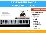 Keyboard Evergreen Songs Collection Vol. 1