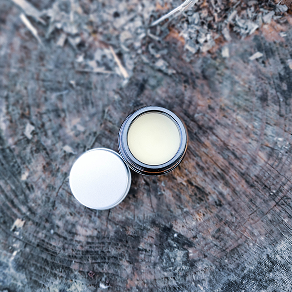 S6 - Organic shea butter and beeswax thyme essential oil infused paw balm.