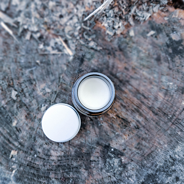 E12 - Organic shea butter and coconut nose balm.