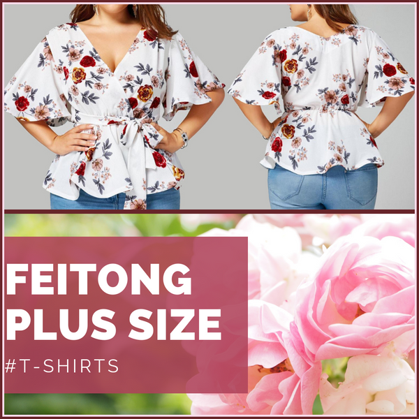 Women's Fashion Designer Blouses and T-Shirts (Plus Size)