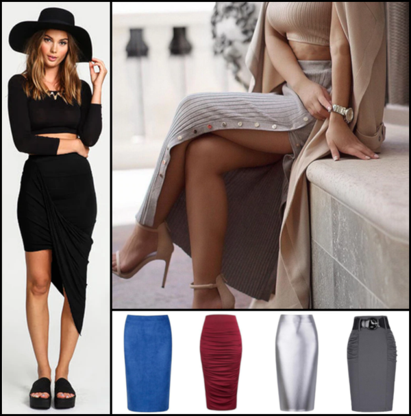 Women's Fashion Designer Skirts (Midi)