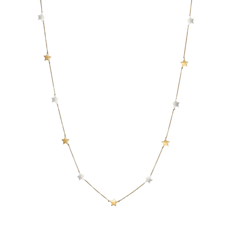 """Stars on Ice"" Necklace"