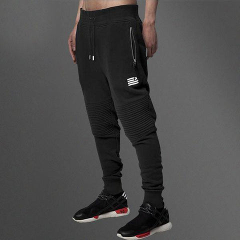 Skinny Zipper Pocket Joggers