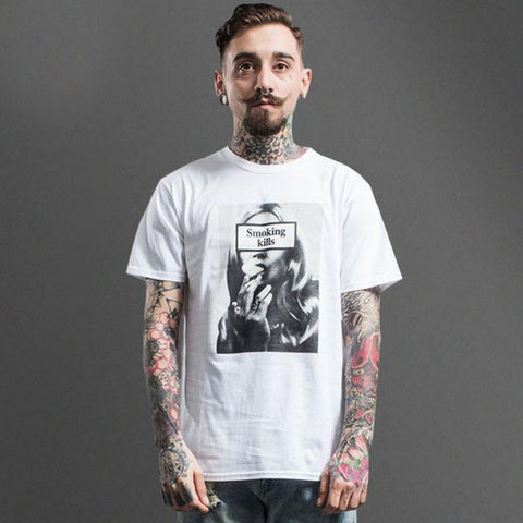 Smoking Kills Printed Tee