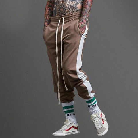 Panelled Patchwork Joggers