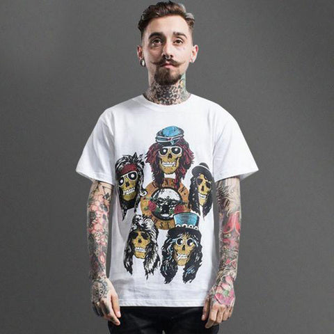 Guns N Roses Cartoon Tee