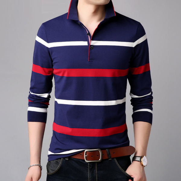 Redford Long Sleeve Polo