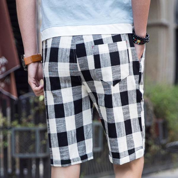 Zackery Plaid Shorts