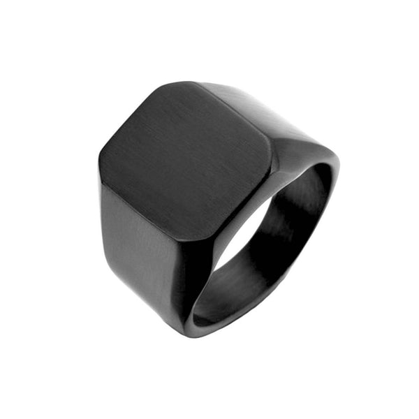 Square Minimalist Ring