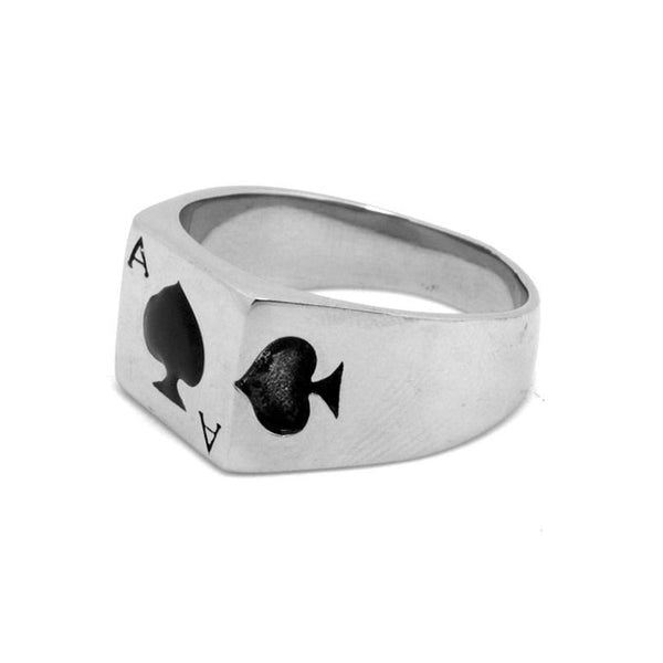 Ace Card Ring