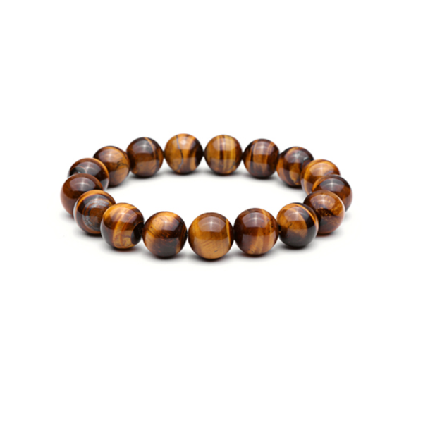Lava Tiger Eye Bracelet