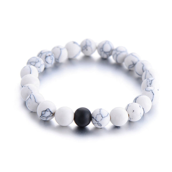 Yin Yang Natural Bracelet Set
