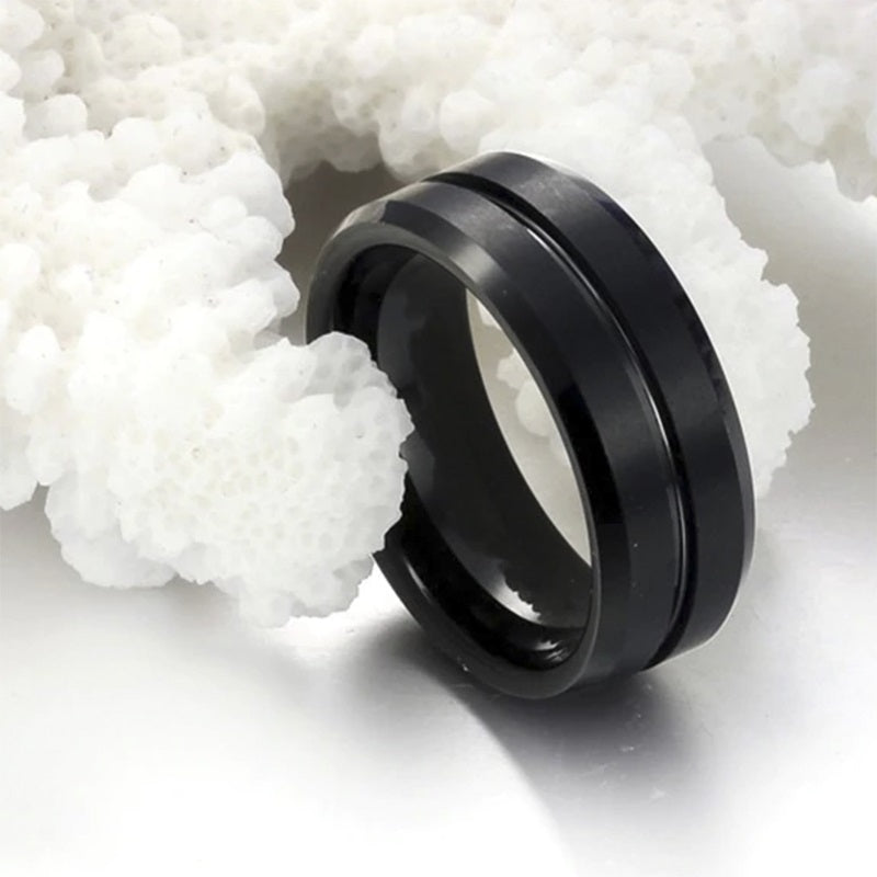 Wheel Titanium Ring