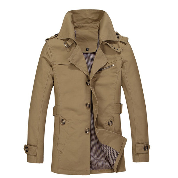Quill Trench Coat