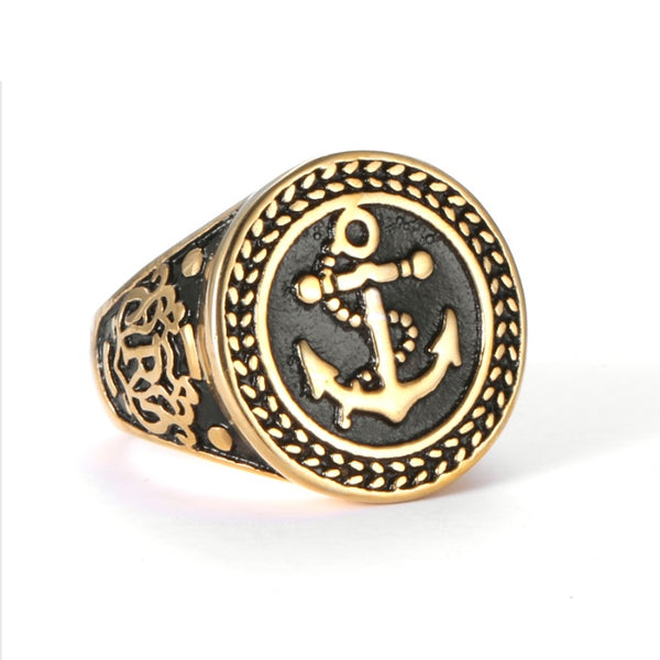 Sea Soul Anchor Ring