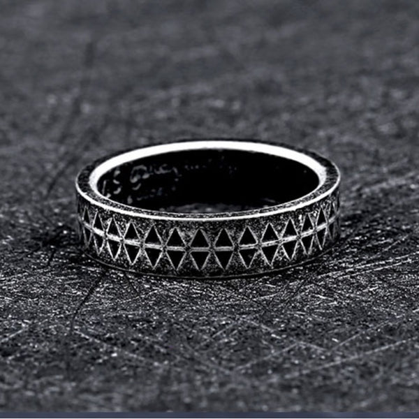 Viking Steel Ring