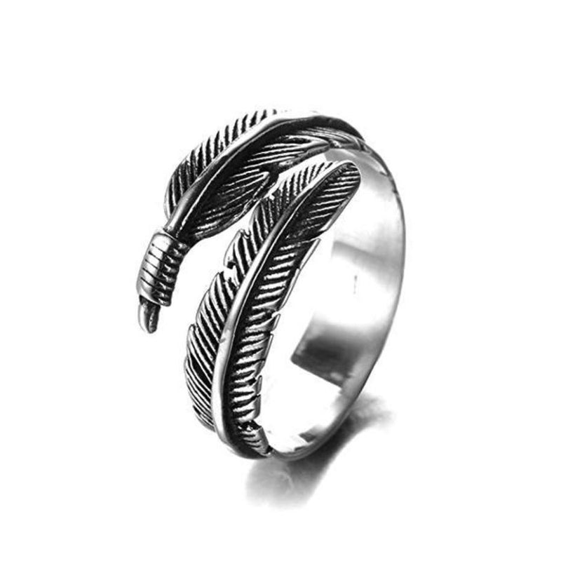 Feather Resizable Ring