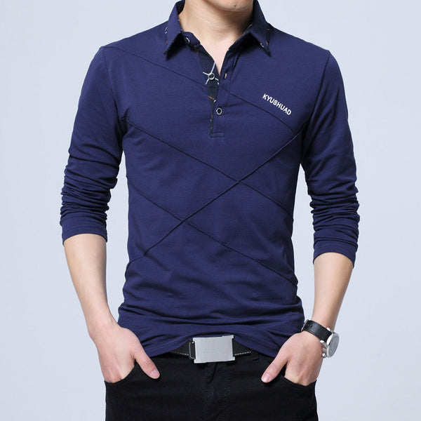 Brogan Long Sleeve Polo