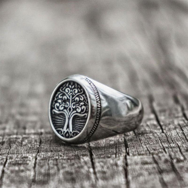 Celtic Tree of Life Ring