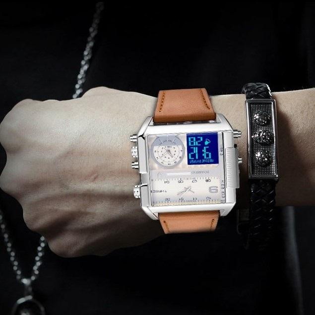 Square Military Watch