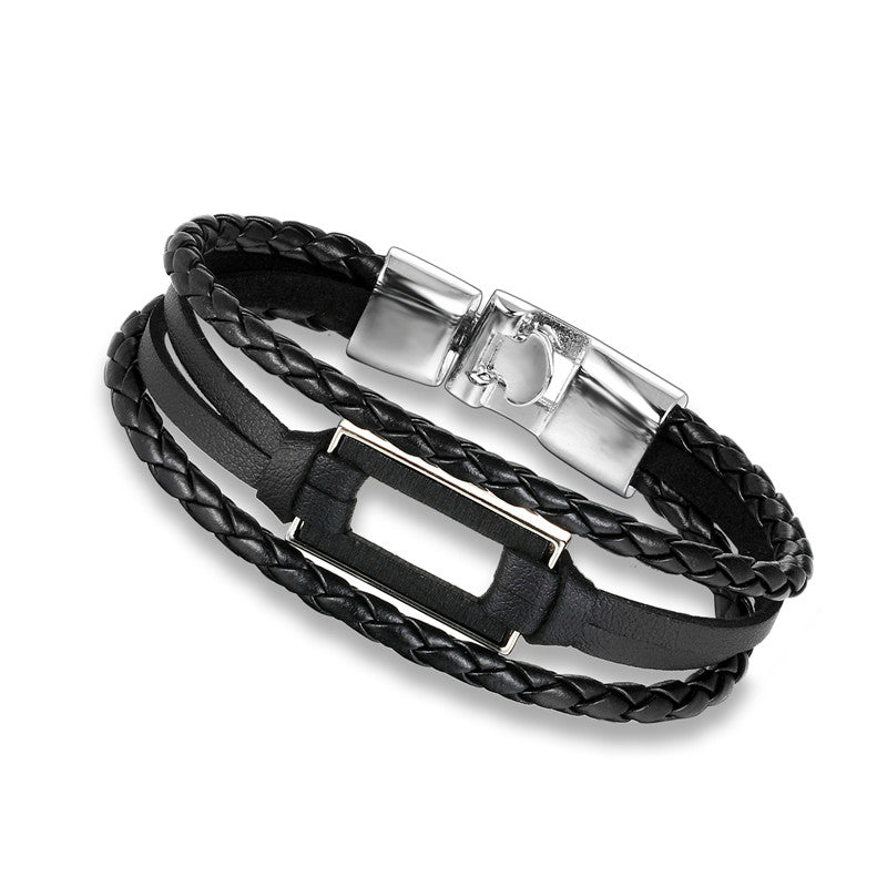 Rectangle Multilayer Bracelet