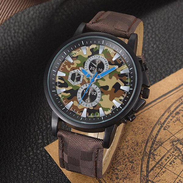 Camouflage Quartz Watch