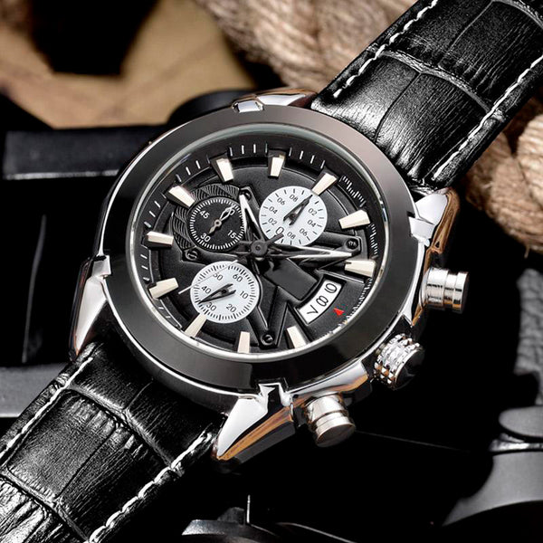 Classic Chronograph Watch
