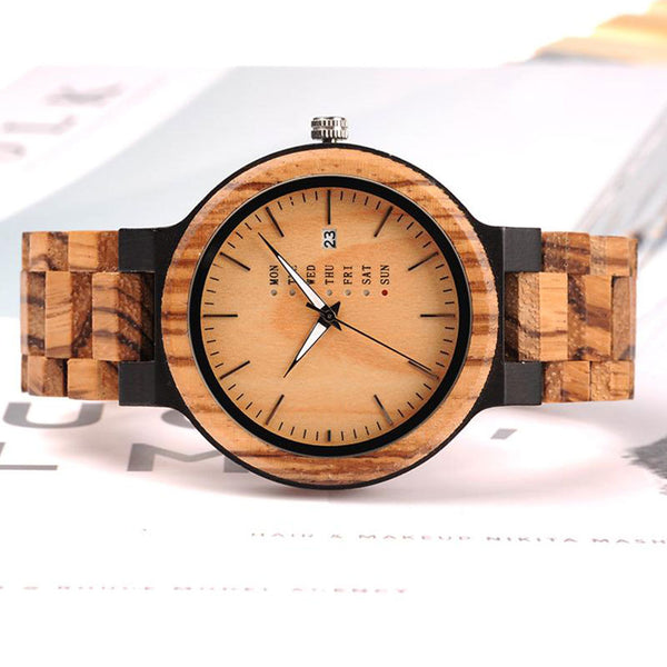 Elegant Wooden Watch