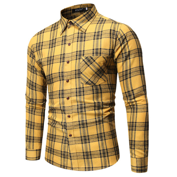 Yanick Plaid Shirt