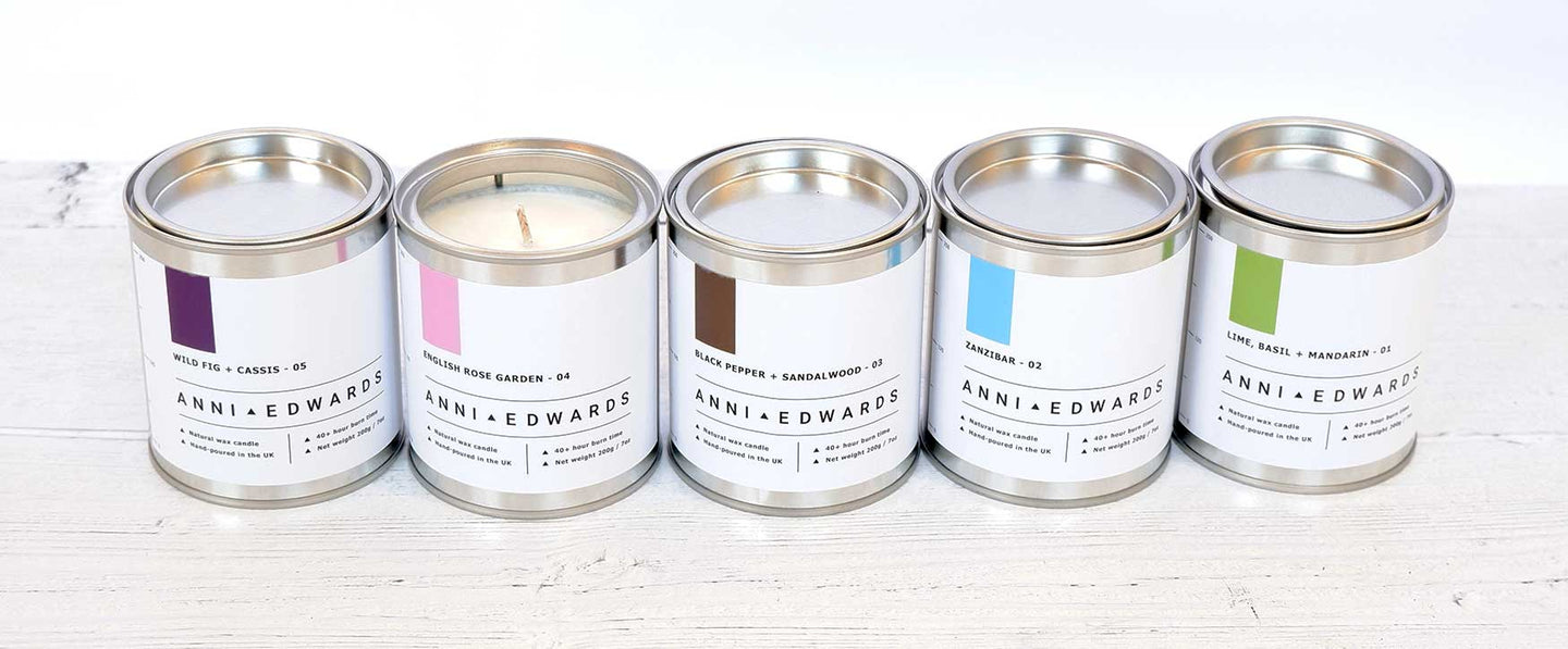 Paint Tin Candles