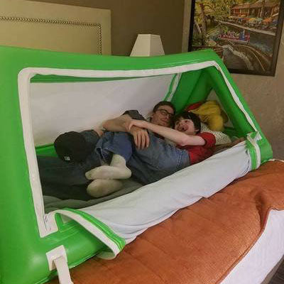 Inflatable Bed for Special Needs