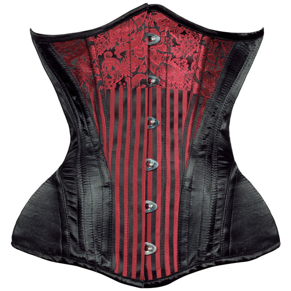 Gored Hipped Waist Training Corset - TheCorsetLady