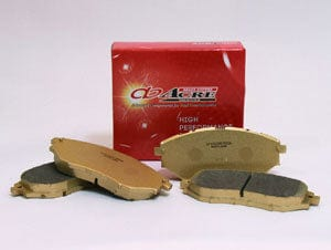 ACRE Dustless Real Front Brake Pads - Honda - DC2(Kouki) - 261-DR - Rzcrewgarage