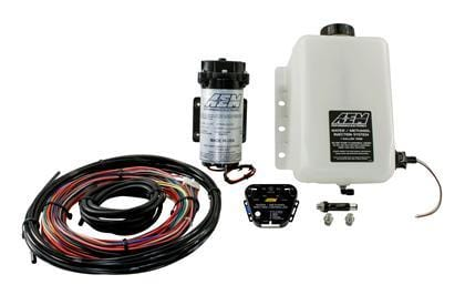 AEM Electronics - V2 Water/Methanol Injection Kit - Multi Input - For Forced Induction Gasoline Engines - RZCrewGarage