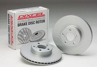 Dixcel Plain Rear Rotors - Honda - DC2(Kouki) - 335-5060-PD - Rzcrewgarage