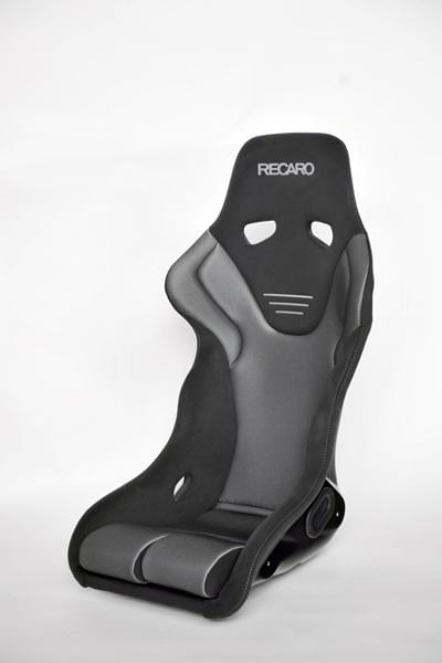 Recaro Japan RS-G GK Fixed Bucket Seat - Black,Silver-R-RS-GGK-BS - Rzcrewgarage