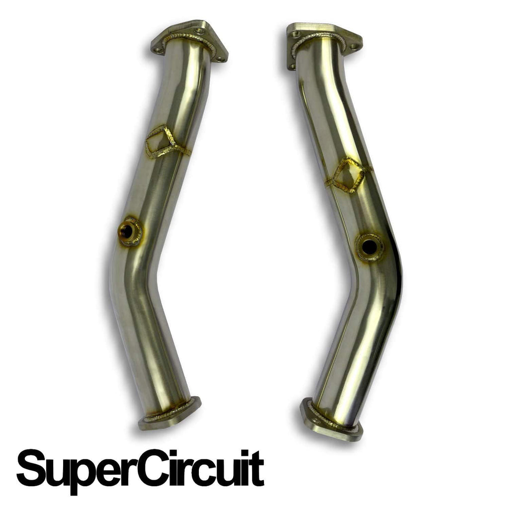 Rzcrew Garage - 2pcs Super Circuit Decat Pipe - Nissan - Fairlady Z Z33 - Z33 - CP-N350Z-S008