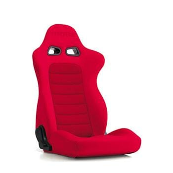 Bride Euroster II (Seat Heater) Reclinable Seat - Frp - Red-E35BBN - Rzcrewgarage