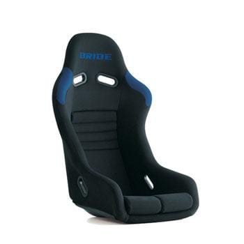 Bride Vios III Reims Fixed Bucket Seat - Frp - Blue-F42CNF - Rzcrewgarage