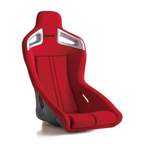 Bride A.i.R Fixed Bucket Seat - Frp - Red-F86BMF - Rzcrewgarage