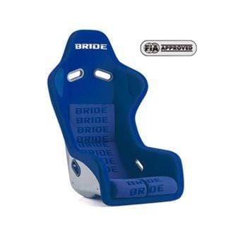 Bride Zeta III type L Fixed Bucket Seat - Carbon Aramid - Blue-FL1JMR - Rzcrewgarage