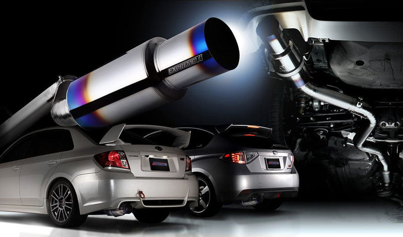 Tomei - Expreme Ti exhaust system - Subaru - Impreza WRX STi GVB APPLIED C to E (Sedan) - GVB APPLIED C to E - 440016