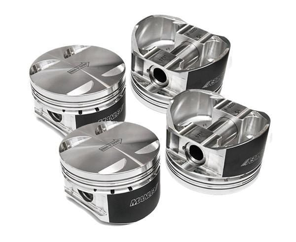 Manley Pistons Kit - 10.4:1Cr - 87mm Bore - Mitsubishi - 4G63 - 7 bolts (94mm Strocker) - 618220C-4 - 618220C-4