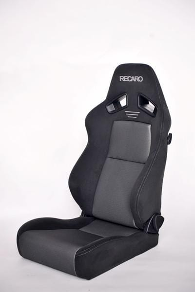 Recaro Japan SR-7F GK 100 Reclinable Seat - Black,Silver-R-SR-7FGK1-BS - Rzcrewgarage