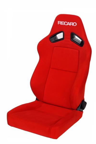 Recaro Japan SR-7F KK 100 Reclinable Seat - Red-R-SR-7FKK-R - Rzcrewgarage